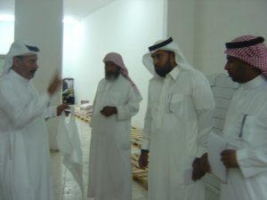 زيارة تفقدية لسعادة مدير مركز التنمية الاجتماعية بمحافظة بدر للجمعية